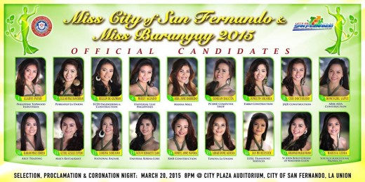 San Fernando Miss Barangay
